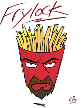 Frylock and I'm on top...