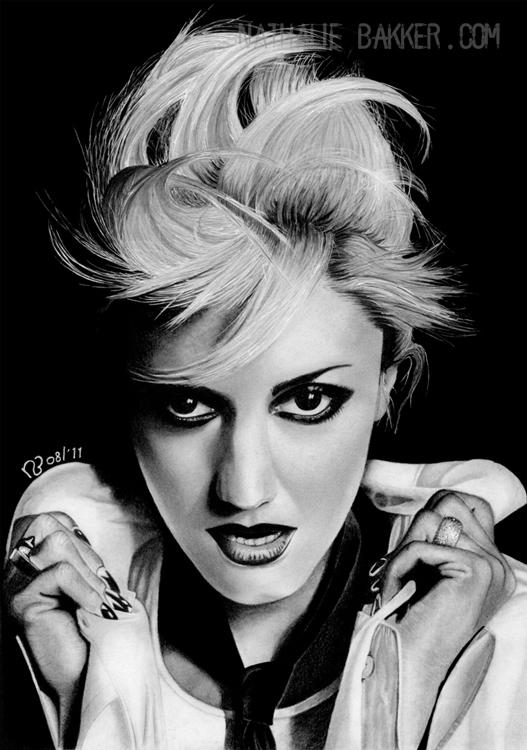 Gwen Stefani: Fierce by LilaeaBluecoat