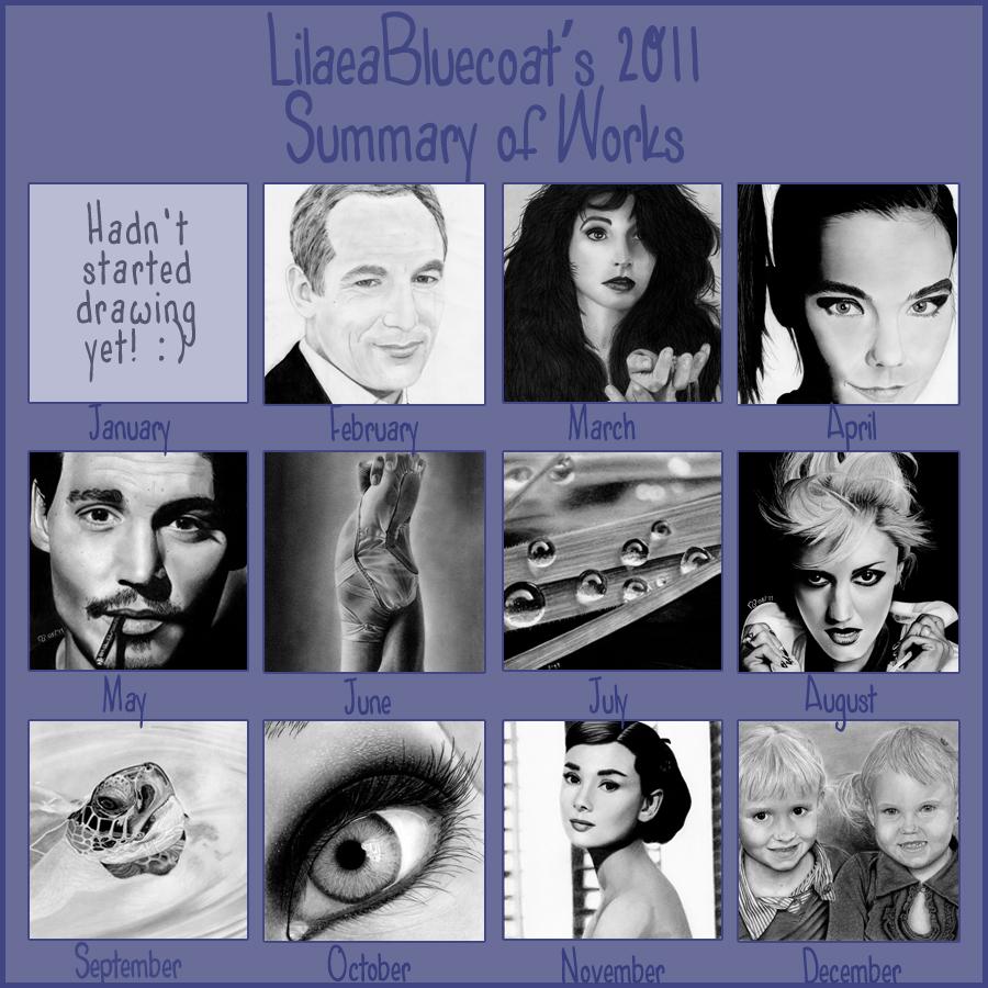 Summary of 2011 by LilaeaBluecoat