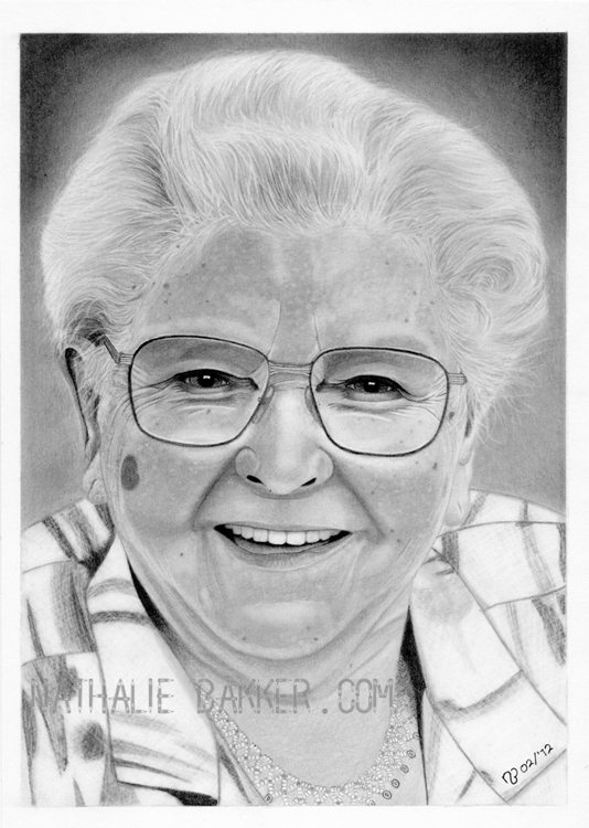 Commission - H's Granny by LilaeaBluecoat