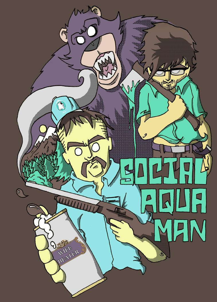 Social Aquaman by thephenomenal92