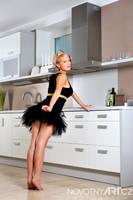 Gabriela in the kitchen