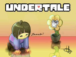 Where are my glasses/Undertale by WILLIFINK