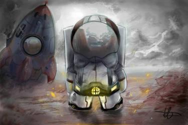 Concept art: Astronaute