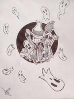 Trick or treat ! (Inktober 4) by WILLIFINK