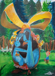 The Giant Easter Egg by WILLIFINK