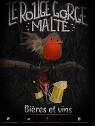Le rouge gorge malte by WILLIFINK