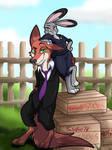 Sly Bunny, Dumb Fox