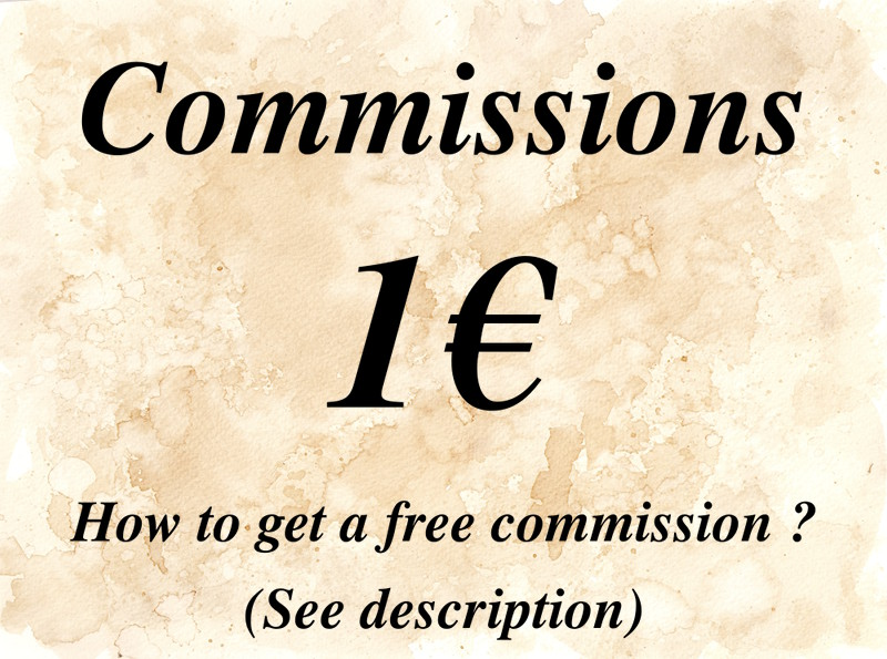 Commissions 1 euro by l-Zoopy-l