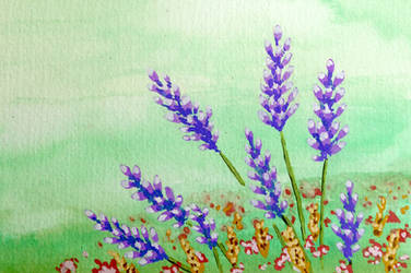 Holiday Card Project 2018 - Lavender by l-Zoopy-l