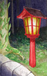 Holiday Cards 2018 - Lantern by l-Zoopy-l