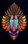 Angular Mandrill by l-Zoopy-l