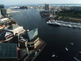 Inner Harbor - Baltimore by FanFrye24