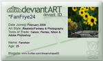 Deviant Art ID Card