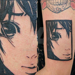 Hare-Kon Manga Tattoo