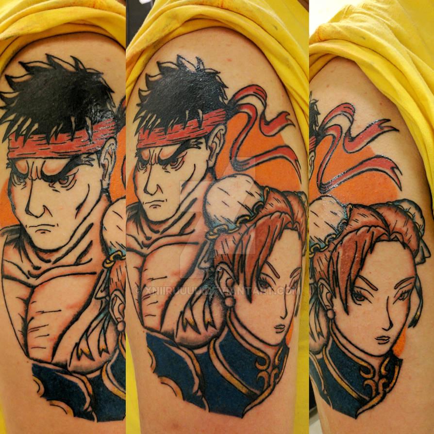 Street Fighter Tattoo By Xniiruuuu On Deviantart