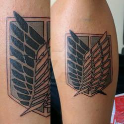 AoT Scout Regiment Tattoo