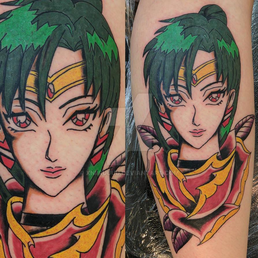Sailor Pluto Tattoo