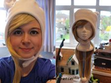 Fionna Wig and Make up test by Light-Sensei