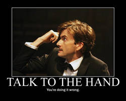 Talk to the Hand by Valoja