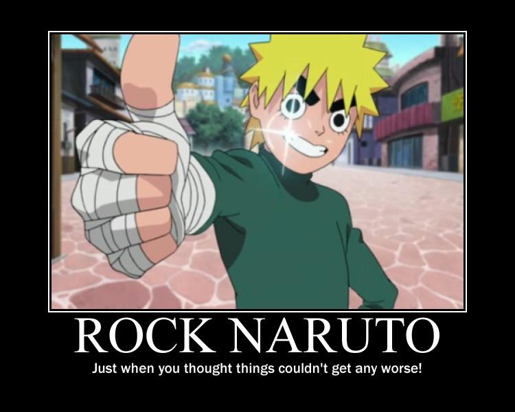 Rock Naruto by Valoja