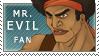 Mr Evil stamp by Cerviero