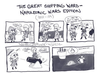 Shipping Wars of 1801 by MorriganFearn