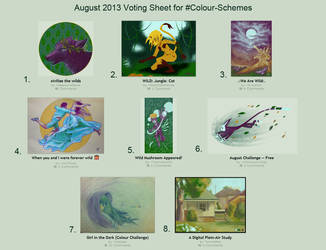 2013 August Voting by MorriganFearn