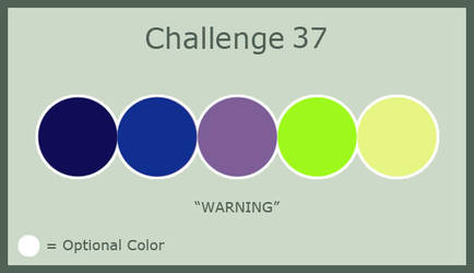Challenge 37: Warning by MorriganFearn