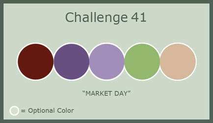 Challenge 41 - Market Day by MorriganFearn