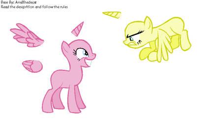 Pony base #10 by GalaxyAcero