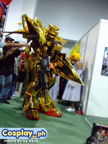 akatsuki gundam cosplay pic by karlonne