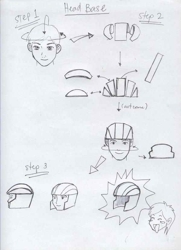 gundam head concept 1 by karlonne