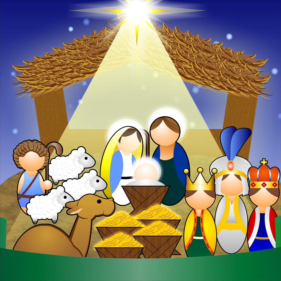 holy family clipart - photo #3