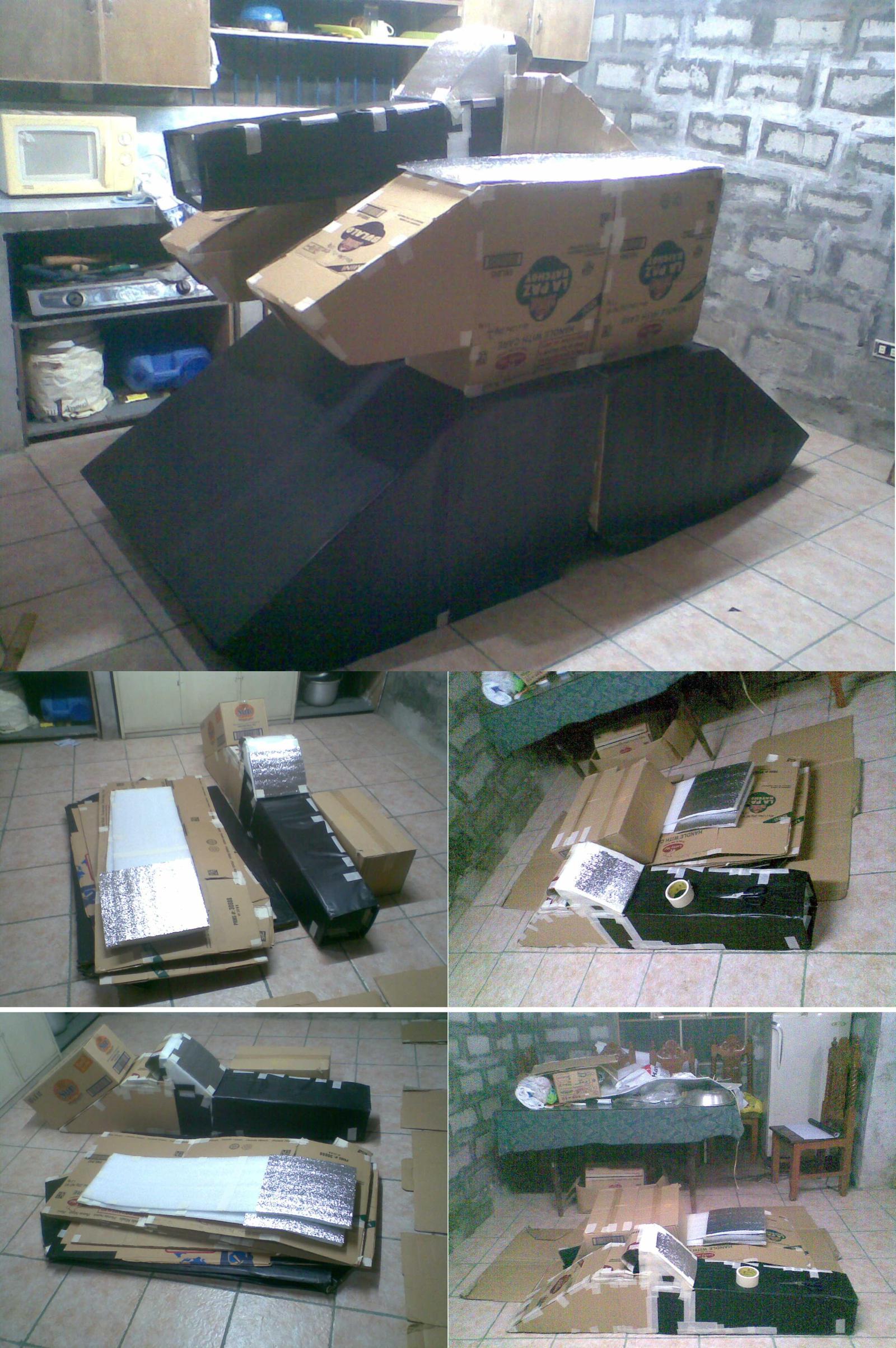 Portable TANK COSTUME WIP by karlonne