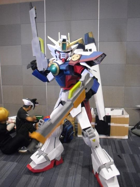 Wing gundam Zero Cosplay by karlonne