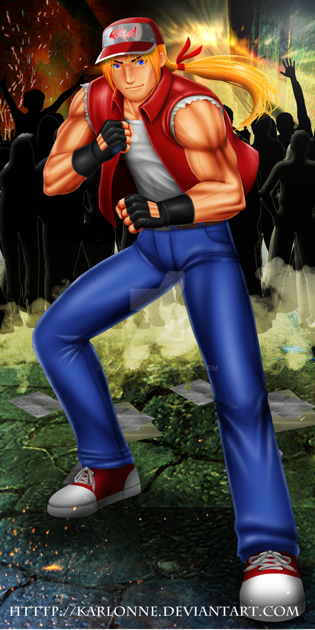 Terry Bogard - COME ON! COME ON! by karlonne