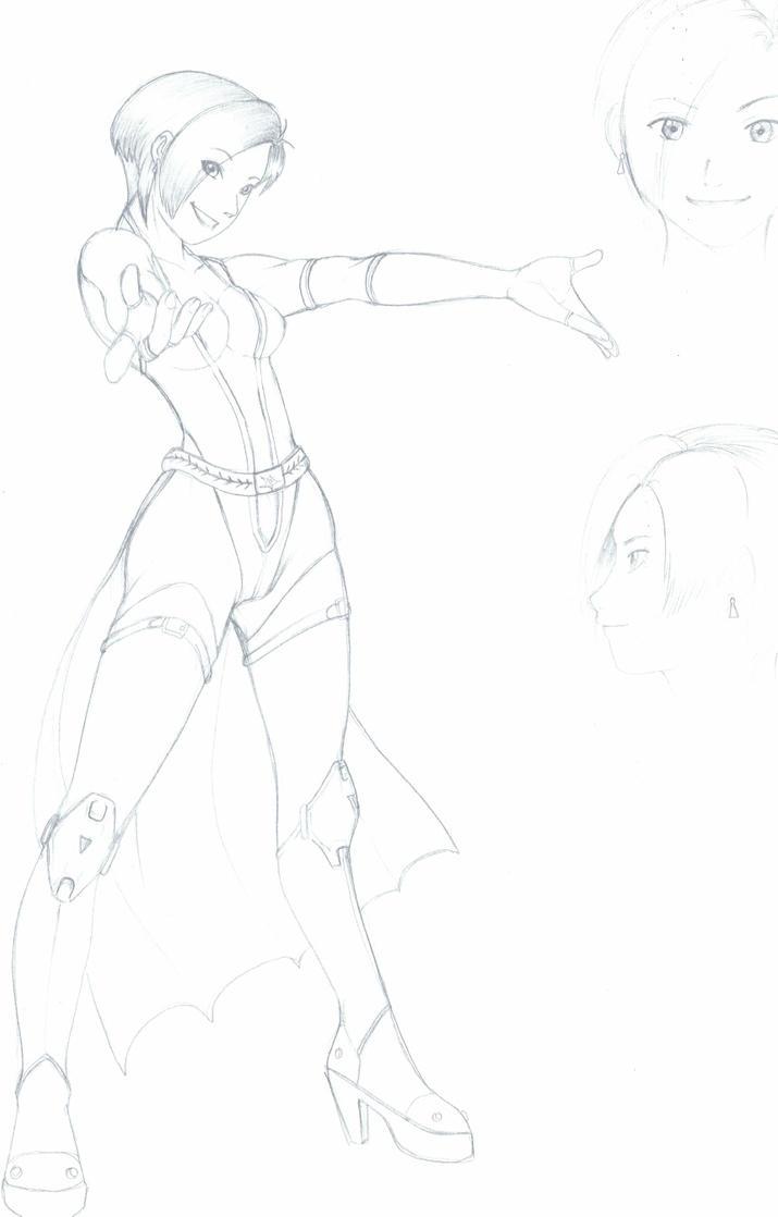 scifi girl by karlonne