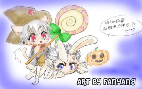happy halloween by karlonne