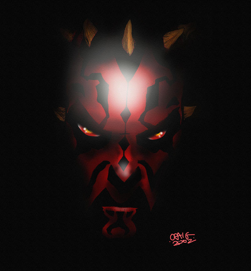 Darth Maul by Indigo-squirrel