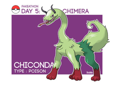 Chiconda (Fakeathon day 5)