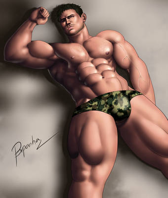 Chris Redfield by BRpanha