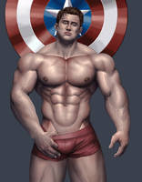 Fanart : Cap. america by BRpanha