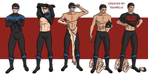 Masquerading as Nightwing