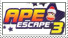 Ape Escape 3 Stamp by SonicSpeedz