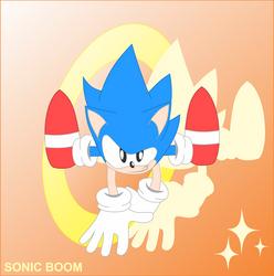 SONIC BOOM by SonicSpeedz
