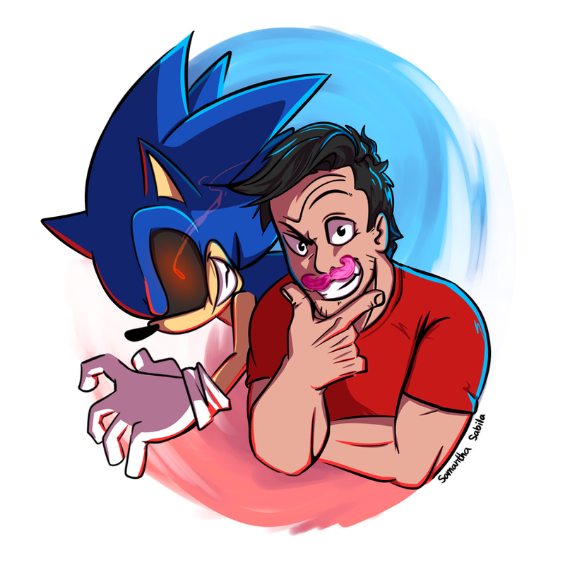 Sonic exe and markiplier by sonicspeedz on deviantart sonic exe and markiplier by sonicspeedz thecheapjerseys Choice Image