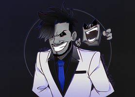 Darkiplier and Dark Tim