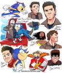 Sonic movie characters
