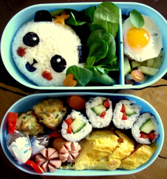 Panda Bento by Cephis